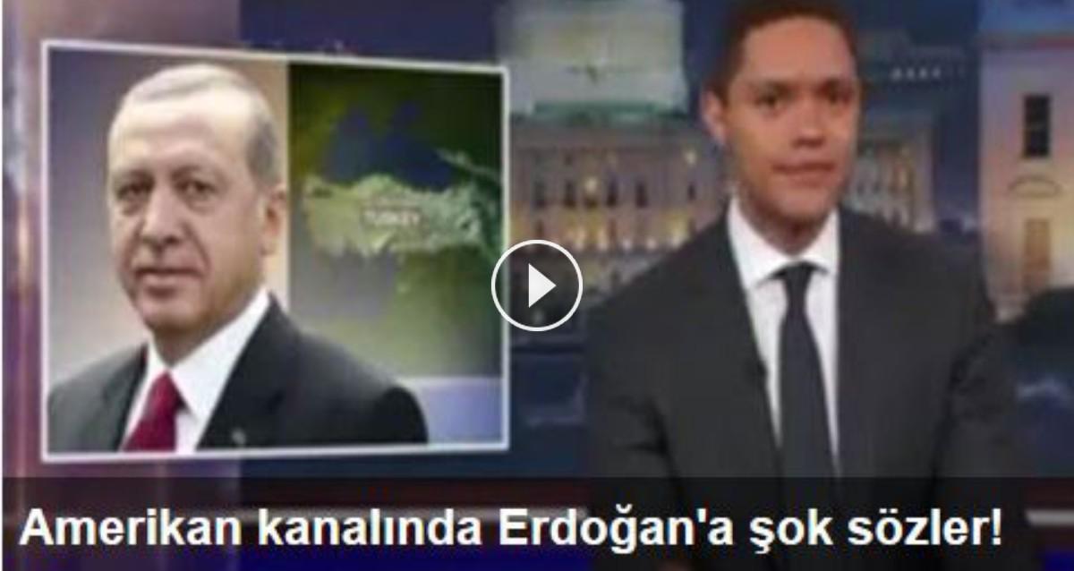 Amerikan Kanalında Erdoğana şok Sözler Hem çok Fena Dalga
